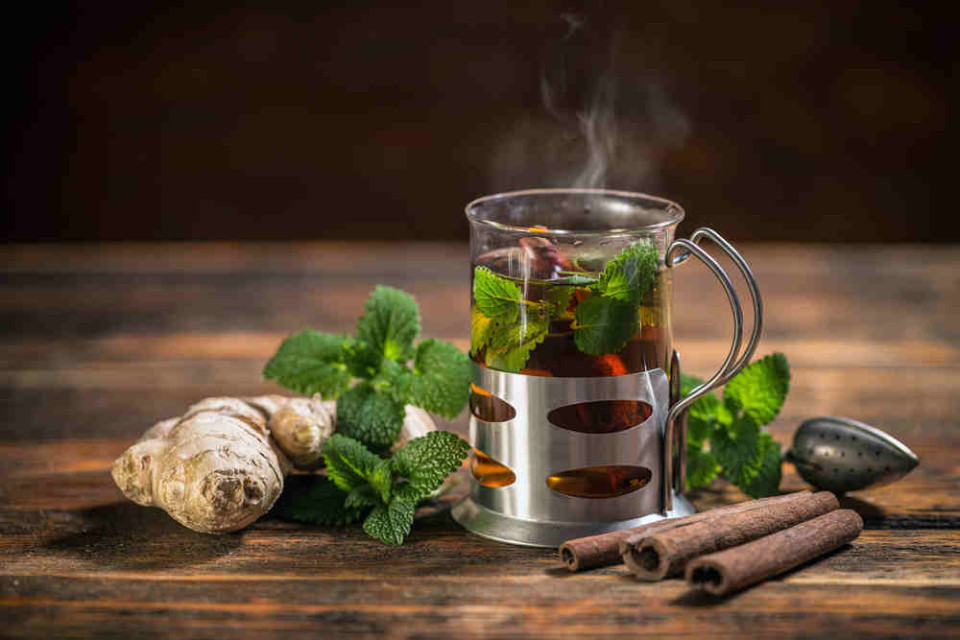 имбирный чай для похудения в термосе рецепт